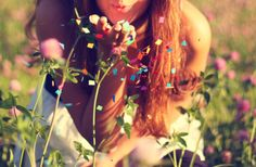 colorful, fashion, flower, flowers, girl
