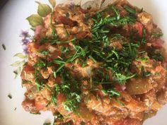 Menemen, a török lecsó Beef, Chicken, Food, Meat, Essen, Meals, Yemek, Eten, Steak