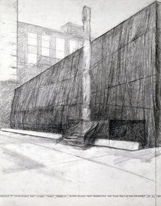 Contemporary Charcoal Drawing Museum of contemporary art