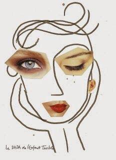 Esta actividad también me gusta mucho. Consiste en recortar de revistas caras , ojos, bocas , orejas... y hacer su propia composición. Con...