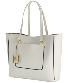 Lauren Ralph Dorset Tote Vegan Leather Luxury