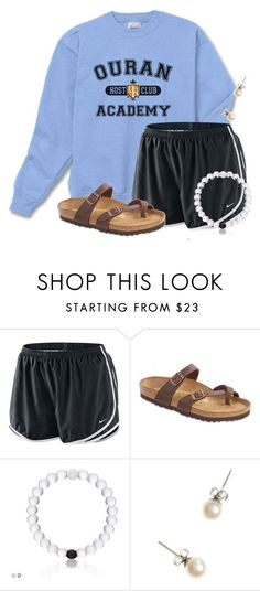 A fashion look from December 2016 featuring NIKE, birkenstock shoes and pearl jewellery. Browse and shop related looks. Lazy Day Outfits, Cute Teen Outfits, Casual Summer Outfits, Outfits For Teens, Stylish Outfits, Spring Outfits, School Outfits, New York Fashion, Teen Fashion