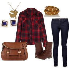 """Praise for Plaid"" by paige-cary on Polyvore"