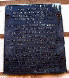 Judged in Salem, Massachusetts.