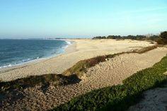 Belle plage de Sainte Marine,  encore plus belle en automne