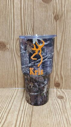 30 oz. Personalized Camouflage Camo by LouisvilleGiftIdeas on Etsy