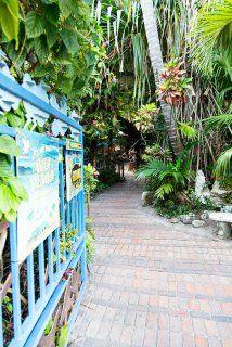 Key West Blue Heaven Eingang