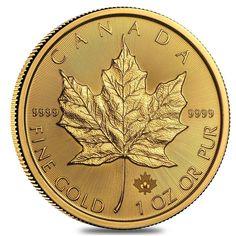 2016 1 oz Canadian Gold Maple Leaf $50 .9999 Fine BU in Coins & Paper Money, Bullion, Gold | eBay