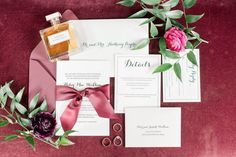 Elegant wedding invitations with red - black and white Read more red wedding dress ideas on WeddingWire! {Pretty Ink Press} Save The Date Invitations, Elegant Wedding Invitations, Wedding Programs, Wedding Stationery, My Favorite Color, My Favorite Things, Wedding Place Cards, Red Wedding, Absolutely Gorgeous