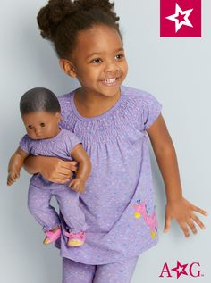 Cuddly Giraffe Pajamas for Little Girls & Bitty Baby Dolls Baby Alive Doll Clothes, Baby Alive Dolls, Baby Dolls, All American Girl Dolls, Disney Live, Sylvanian Families, Bitty Baby, Action Movies, Live Action