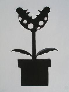 silhouette mario bros - Recherche Google