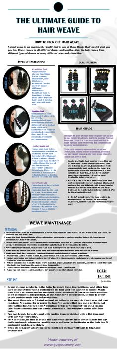 The Ultimate Guide to Hair Weave Hair Envy Grade Weave to Hair hair guide to hair weave Pelo Natural, Natural Hair Tips, Natural Hair Journey, Natural Hair Styles, Cocoa, Hair Extension Care, My Hairstyle, Hairstyle Ideas, Hair Ideas