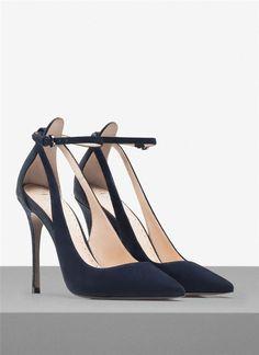 Zapatos para Nochebuena y Nochevieja: salones Uterqüe