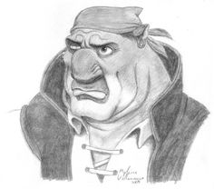 Disney Films, Disney Pixar, Jim Hawkins Treasure Planet, Long John Silver, Planet Tattoos, Disney Fan Art, Drawing Poses, Disney Drawings, Disney Magic