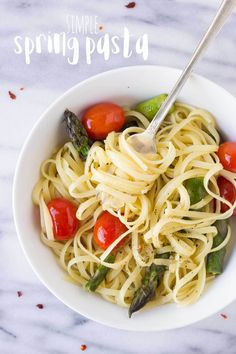 Simple Spring Pasta