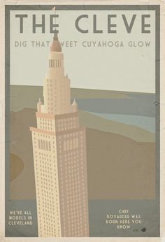 Every time I drive into the city, I think it: There is nothing like THE CLEVE! All it's missing is ballet.