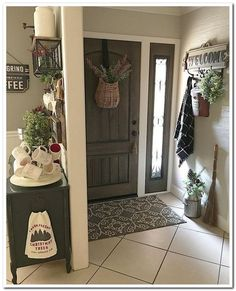 54 farmhouse decor inspiration 39 - New Deko Sites Farmhouse Bedroom Decor, Country Farmhouse Decor, Farmhouse Style Kitchen, Modern Farmhouse Kitchens, Country Kitchens, Farmhouse Design, Farmhouse Chic, Design Hotel, Home Design