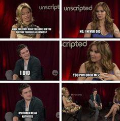 Jennifer Lawrence and Josh Hutcherson funny interview