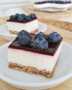 Bosbessen Griekse yoghurt bites