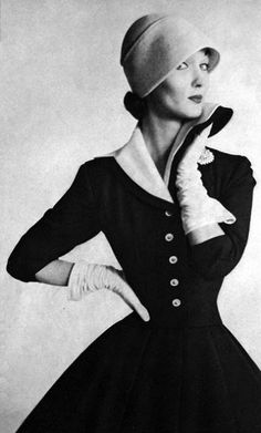 1950´s hat and dress