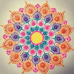 "100 Likes, 4 Comments - Debbie Weckesser (@debweck) on Instagram: ""More dots!!! #dotart #dotpainting #dotartpainting #dotartwork #dotmandala #mandalaart #mandala…"""