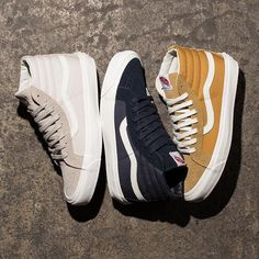 b061dea25c4 Vans OG Sk8 Hi LX    Available now at Select Undefeated Chapter Stores and  Undefeated