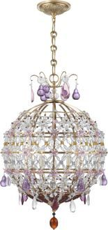 Aerin for Visual Comfort  HEATHER CEILING LIGHT | Purple Violet | Pinterest | Ceiling lights, Ceilings and Visual comfort