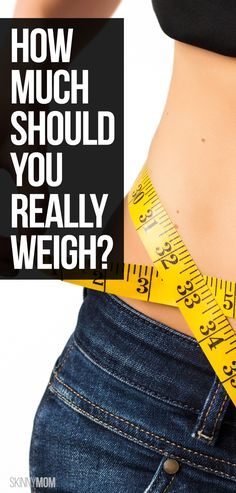 Curious about what you should REALLY weigh? Read this.