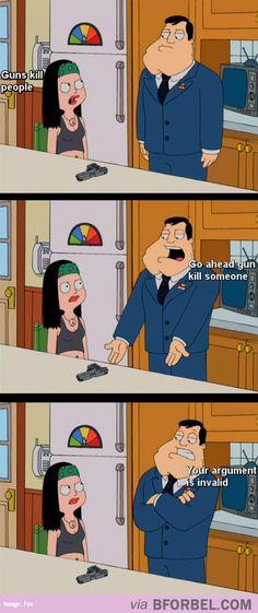 Guns Aren't The Problem Here…