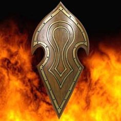 Elven Battle Shield - Latex