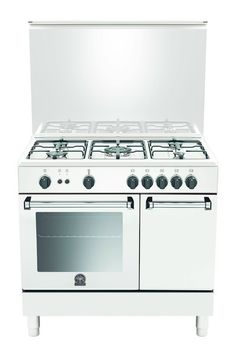 Blocco cucina a gas / in ghisa / in acciaio inox / tradizionale ...