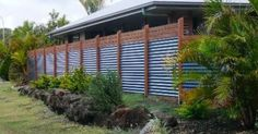 101 Cheap DIY Fence Ideas for Your Garden, Privacy, or Perimeter Privacy Fence Ideas 7 Backyard Privacy, Privacy Fences, Backyard Fences, Fenced In Yard, Backyard Landscaping, Backyard Ideas, Yard Fencing, Garden Privacy, Privacy Screens