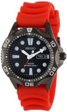 Seiko Men's SNE245 Solar Dive Japanese Quartz Dive Watch - http://www.sportingfests.com/seiko-mens-sne245-solar-dive-japanese-quartz-dive-watch/