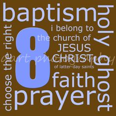 Baptism print from LDSdecor on etsy