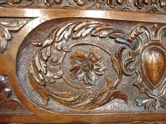 Carved Antique Renaissance Panel from France