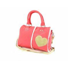 Een supergave schooltas van BFF: Best Friends Forever. In het roze met een mooi hart op de voorkant.