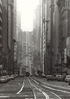 California Street, San Francisco, 1964.