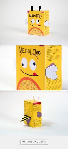 Cute interactive student packaging design by Karla Novak (Croatia) - http://www.packagingoftheworld.com/2016/10/childrens-food-packaging.html