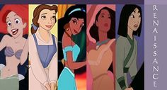 Disney Renaissance Princesses
