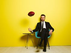 Joel McHale.  Funny. And tall.