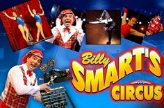 Billy smart circus tickets at 60% off - A family night out to remember! Only for £6.00