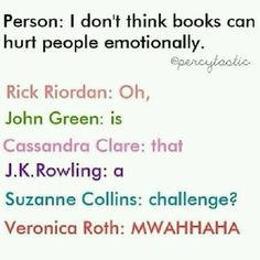I've been ruined by each one of these authors.