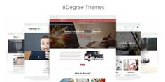 New Year 2016 Giveaway by 8Degree Themes - Win 5 Premium #WordPress Themes