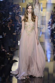 ELIE SAAB The Best Runway Looks From Haute Couture Fall 2015  - HarpersBAZAAR.com