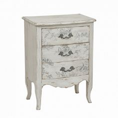White Headboard, Queen Headboard, 3 Drawer Chest, Chest Of Drawers, Nightstand, Dresser, French Villa, French Country Furniture, Rattan Furniture