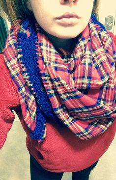 Elementary Watson Blanket scarf by Hookopotomus on Etsy