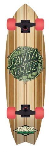 Santa Cruz Bamboo Inlayed Shark Cruzer