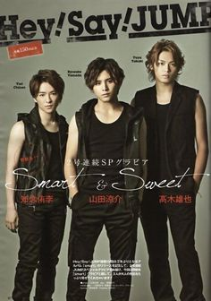 Takaki Yuya , Yamada Ryosuke , Chinen Yuri Hey! Say! JUMP HSJ hey say best , hey say 7 #yuya #takaki #japan #boys