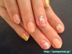 Peach & Gold