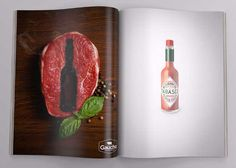 20 Creative Tabasco Ads that you need to see. Check out our favorite Tabasco ads at Ateriet - A Food Culture Website, visit for more great food content. Street Marketing, Guerilla Marketing, Ads Creative, Creative Advertising, Creative People, Creative Director, Creative Design, Creative Ideas, Print Advertising